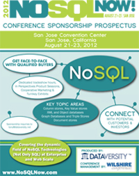 2012 NoSQL Now! Conference Prospectus